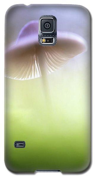 Galaxy S5 Case featuring the photograph Mushroom Ufo by Dirk Ercken