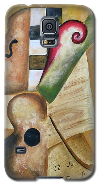 Music Abstract  Galaxy S5 Case