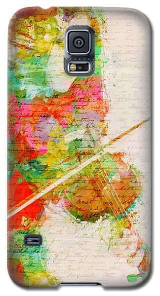 Music Galaxy S5 Cases - Music In My Soul Galaxy S5 Case by Nikki Smith