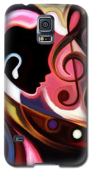 Music In The Air Galaxy S5 Case by Karen Showell