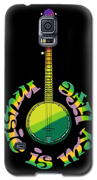 Music Is My Life Galaxy S5 Case