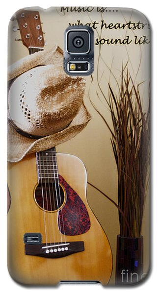 Music Is What Heartstrings Sound Like  Galaxy S5 Case