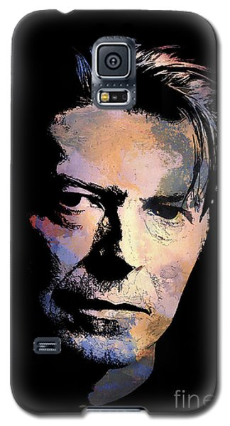 Galaxy S5 Case featuring the painting Music Legend 2 by Andrzej Szczerski