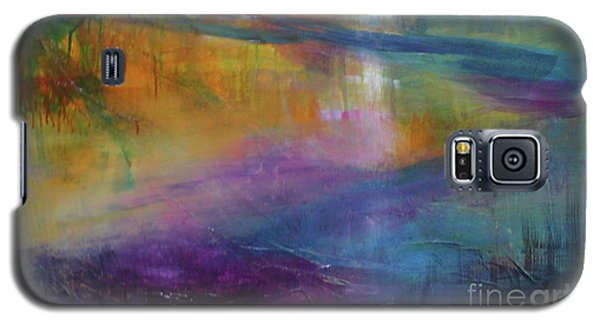 Galaxy S5 Case featuring the painting Music Of The Night by Mary Sullivan