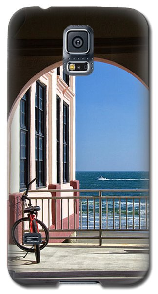 Music Pier Doorway View Galaxy S5 Case