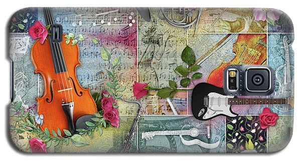 Musical Garden Collage Galaxy S5 Case