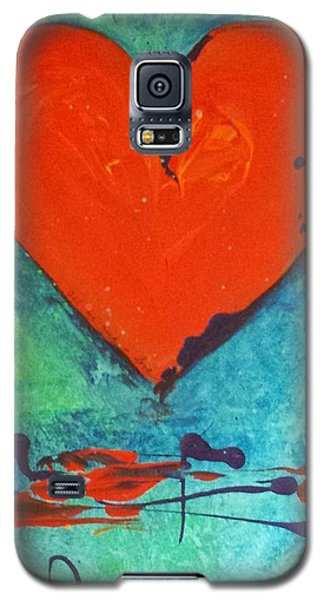 Musical Heart Galaxy S5 Case by Diana Bursztein