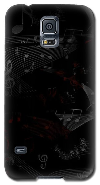 Musical Notes Galaxy S5 Case
