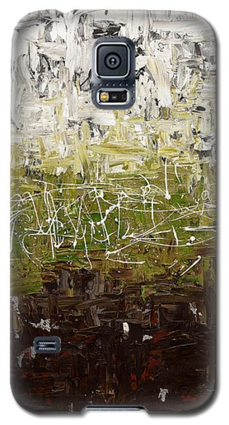 Galaxy S5 Case featuring the painting Musing by Carmen Guedez