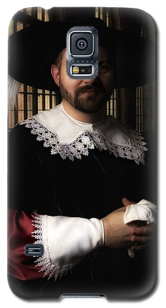 Musketeer In The Old Castle Hall Galaxy S5 Case