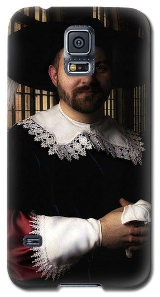 Musketeer In The Old Castle Hall Galaxy S5 Case by Jaroslaw Blaminsky