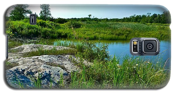 Galaxy S5 Case featuring the photograph Muskoka Ontario 4 by Claire Bull