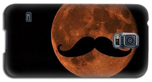 Mustache Moon Galaxy S5 Case