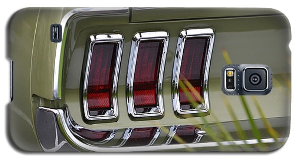 Mustang Fastback In Green Galaxy S5 Case