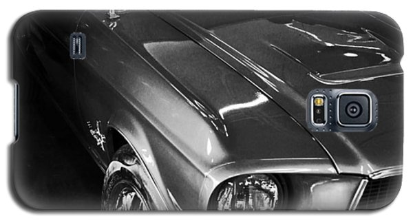 Galaxy S5 Case featuring the photograph Mustang In Black And White by John Stuart Webbstock