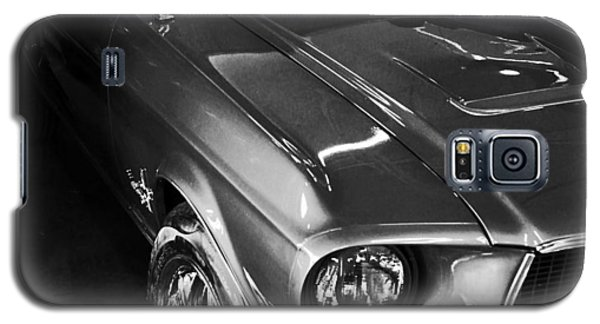 Mustang In Black And White Galaxy S5 Case