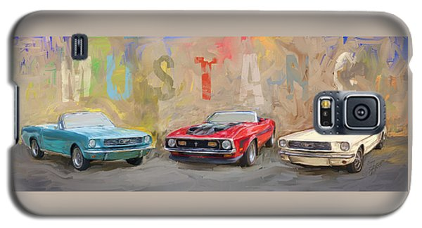 Mustang Panorama Painting Galaxy S5 Case