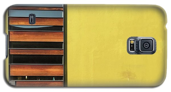 Galaxy S5 Case - Mustard Wall by Julie Gebhardt