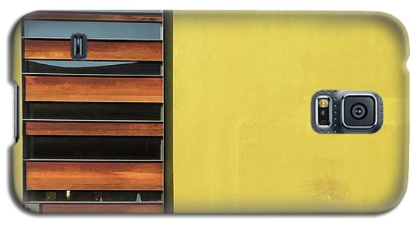 Galaxy S5 Case - Mustard Wall by Julie Gebhardt