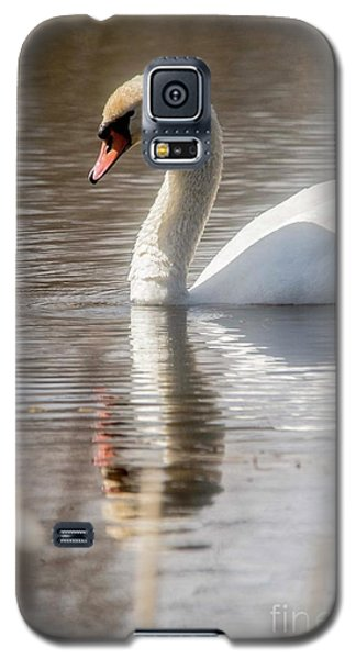 Galaxy S5 Case featuring the photograph Mute Swan - 2 by David Bearden