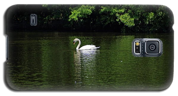 Galaxy S5 Case featuring the photograph Mute Swan by Sandy Keeton