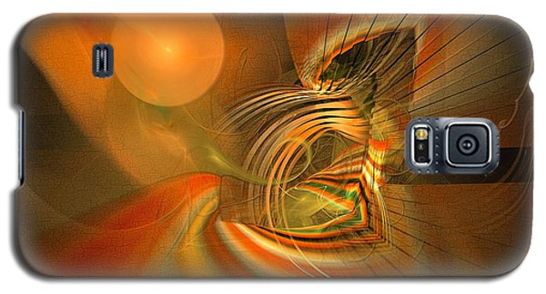 Mutual Respect - Abstract Art Galaxy S5 Case by Sipo Liimatainen