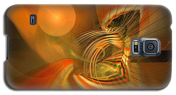 Mutual Respect - Abstract Art Galaxy S5 Case
