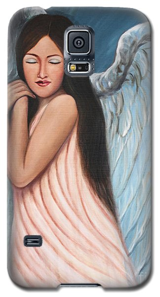 My Angel In Blue Galaxy S5 Case