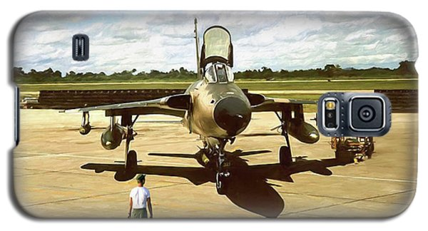 My Baby F-105 Galaxy S5 Case by Peter Chilelli