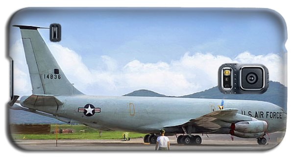Galaxy S5 Case featuring the digital art My Baby Kc-135 by Peter Chilelli