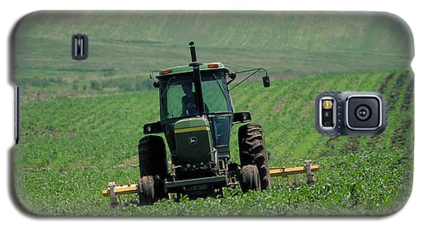 My Big Green Tractor Galaxy S5 Case by Garry McMichael
