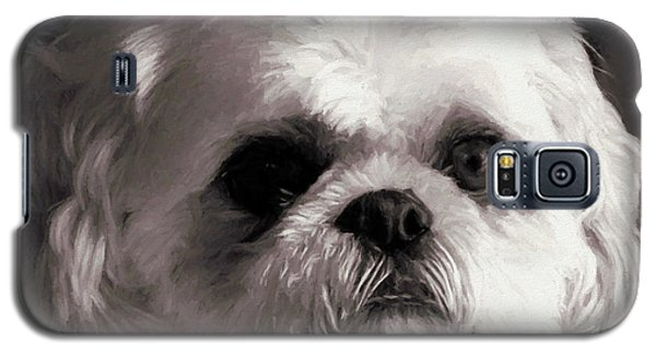 Galaxy S5 Case featuring the painting My Bubba - Painting by Ericamaxine Price