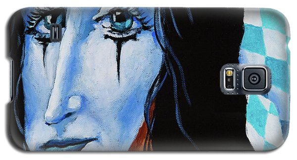 Galaxy S5 Case featuring the painting My Dearest Friend Pierrot by Igor Postash