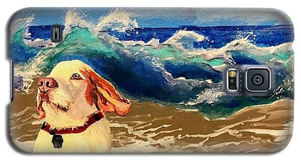 My Dog And The Sea #1 - Beagle Galaxy S5 Case