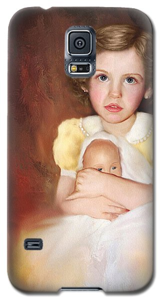 Galaxy S5 Case featuring the photograph My Dolly by Bonnie Willis