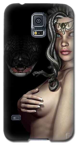 My Eyes Are Up Here Galaxy S5 Case