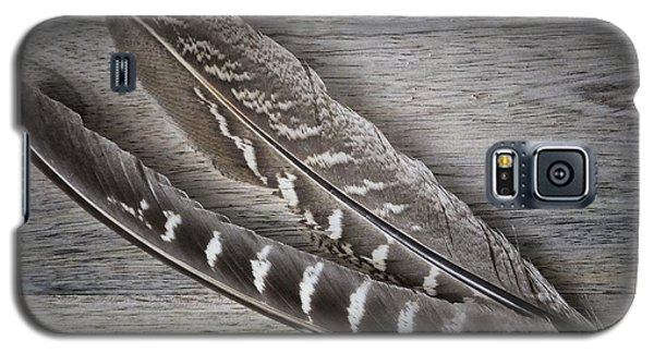 Galaxy S5 Case featuring the photograph My Fabulous Feathery Find. by Karen Stahlros