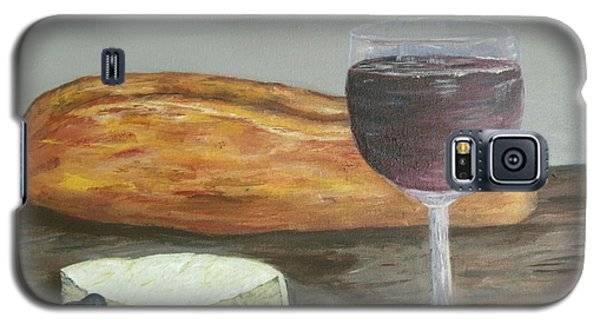 Galaxy S5 Case featuring the painting My Favorite Things by Debbie Baker