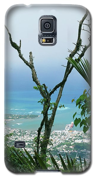 My Favorite Wishbone Between A Mountain And The Beach Galaxy S5 Case by Heather Kirk