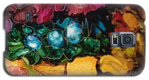 My Flower Garden Galaxy S5 Case by Suzanne Canner