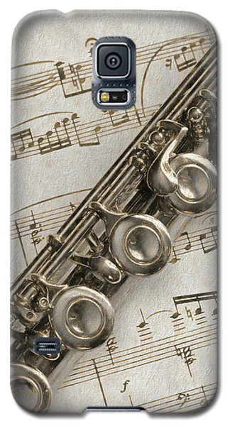 My Flute Photo Sketch Galaxy S5 Case