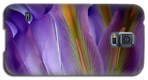 Galaxy S5 Case featuring the photograph My Forever Iris by Bobby Villapando