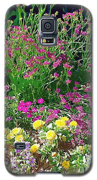 Galaxy S5 Case featuring the photograph My Garden   by Donna Bentley