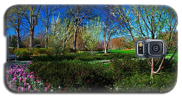 My Garden In Spring Galaxy S5 Case by Diana Mary Sharpton