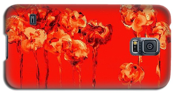 My Garden - Red Galaxy S5 Case