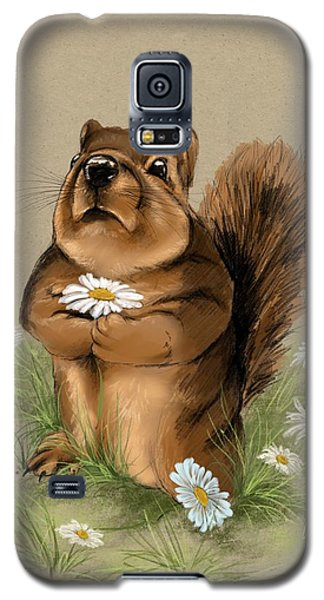 Galaxy S5 Case featuring the painting My Gift For You by Veronica Minozzi