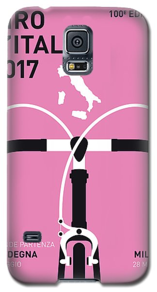 My Giro Ditalia Minimal Poster 2017 Galaxy S5 Case by Chungkong Art