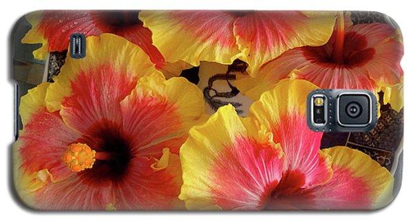 My Hibiscus Garden Galaxy S5 Case