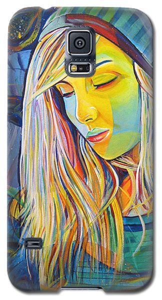 Galaxy S5 Case featuring the painting My Love by Joshua Morton