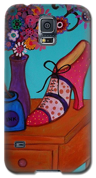 My Love Galaxy S5 Case by Pristine Cartera Turkus